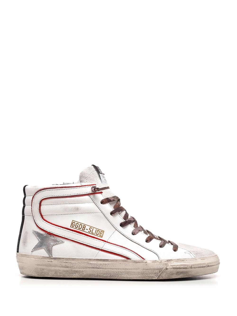 """GOLDEN GOOSE DELUXE BRAND Hi-Top """"Slide"""" Sneakers"""