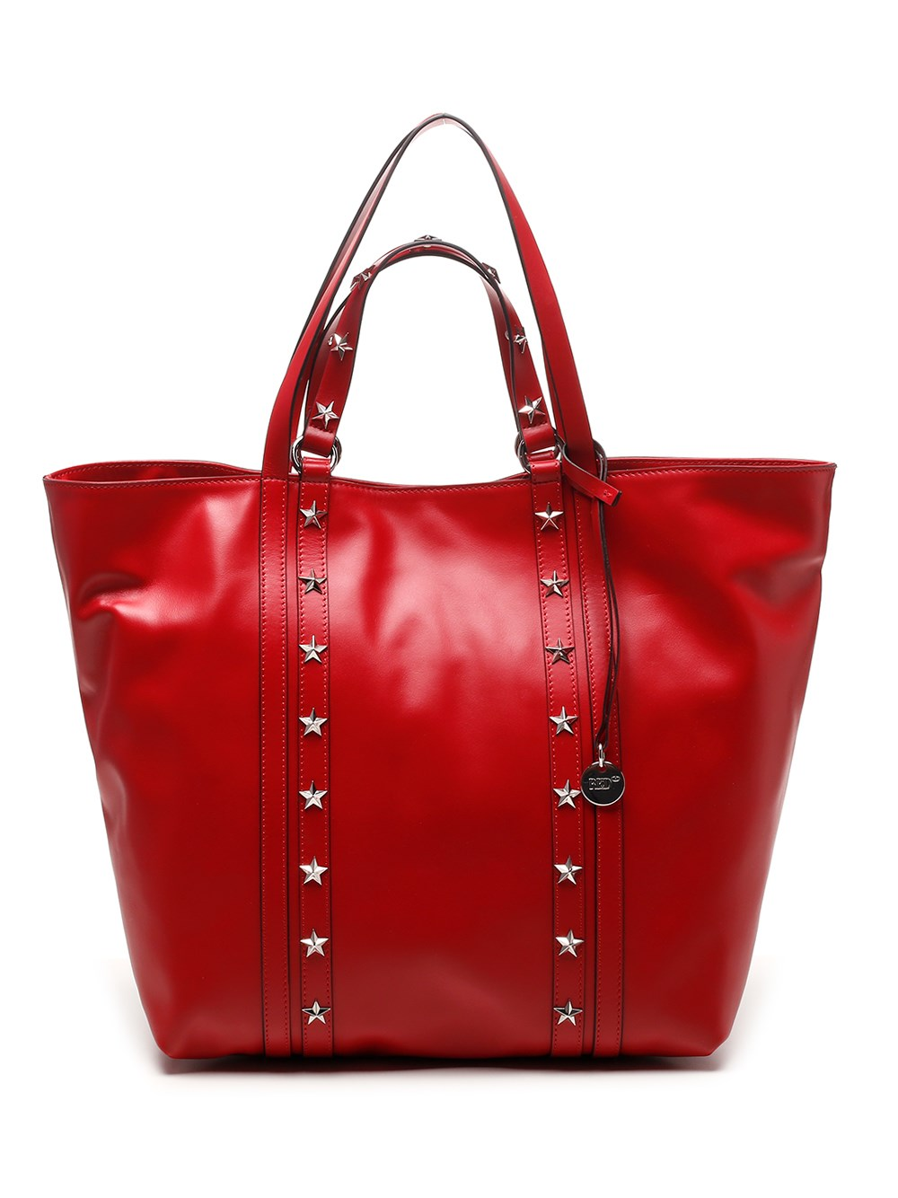 RED (V) Double Handles Tote Bag
