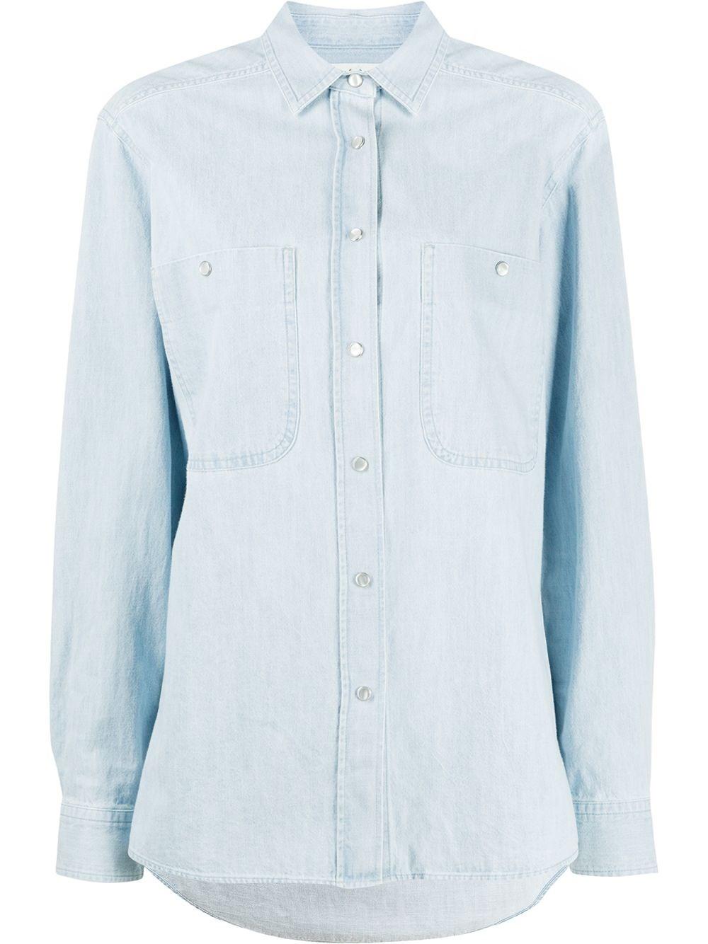 """ISABEL MARANT ETOILE """"Galisea"""" Long Shirt"""