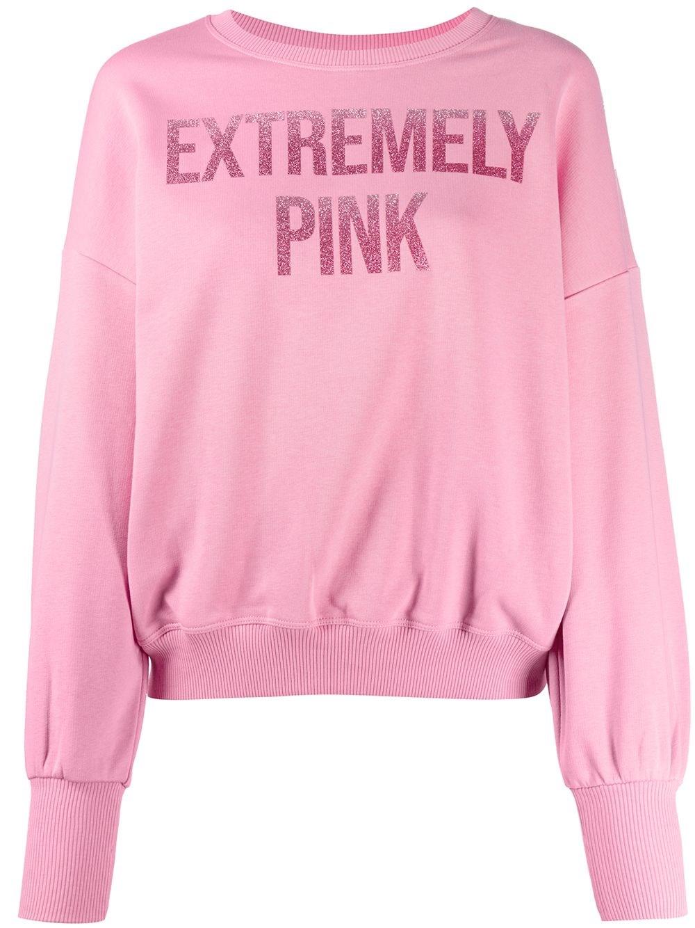 "REDVALENTINO ""Extremely Pink"" Sweatshirt"