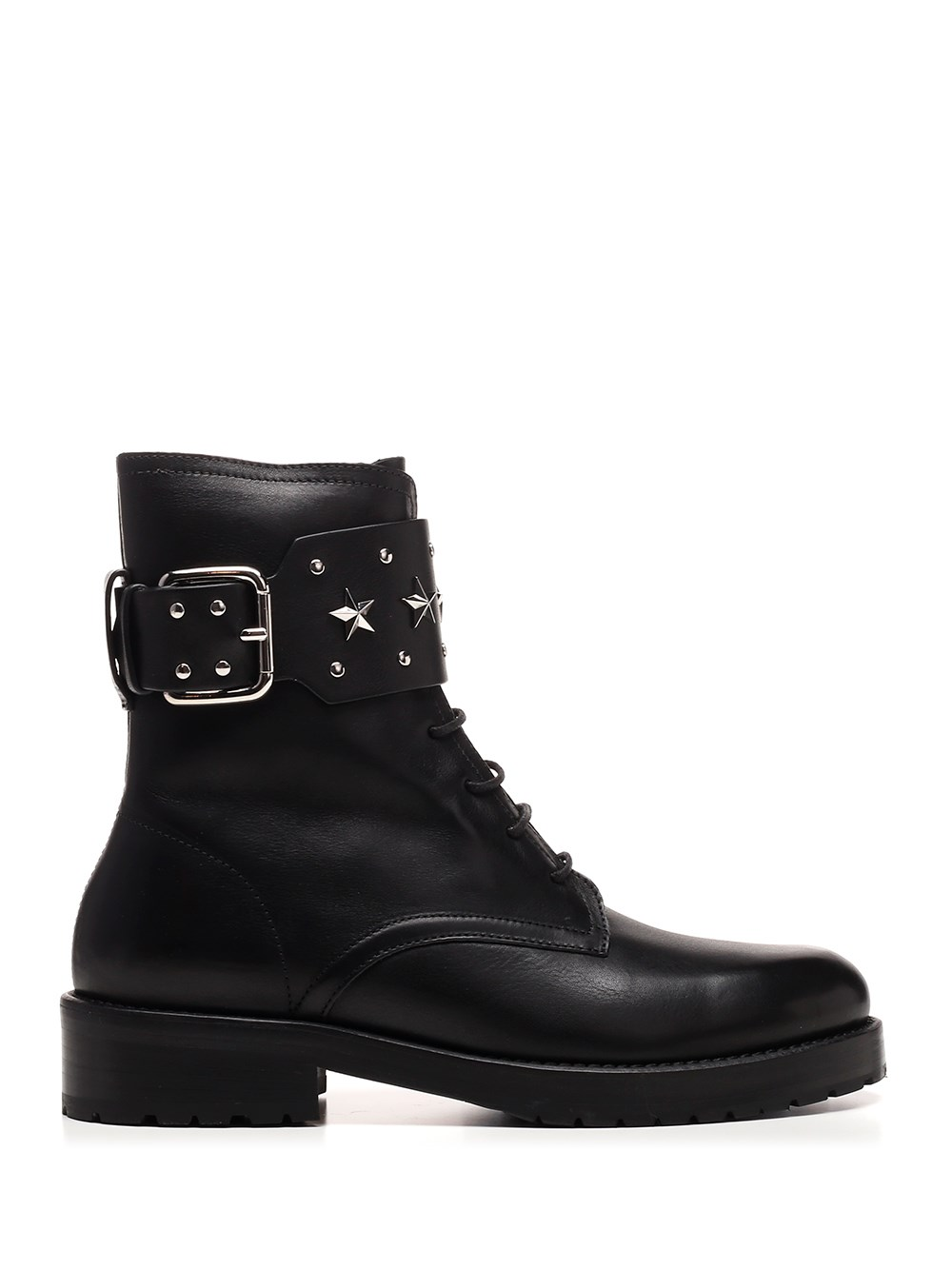 RED (V) Combat Boot