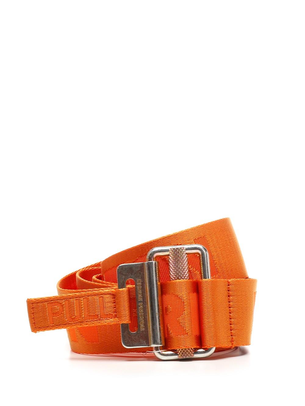 HERON PRESTON Orange Tape Belt