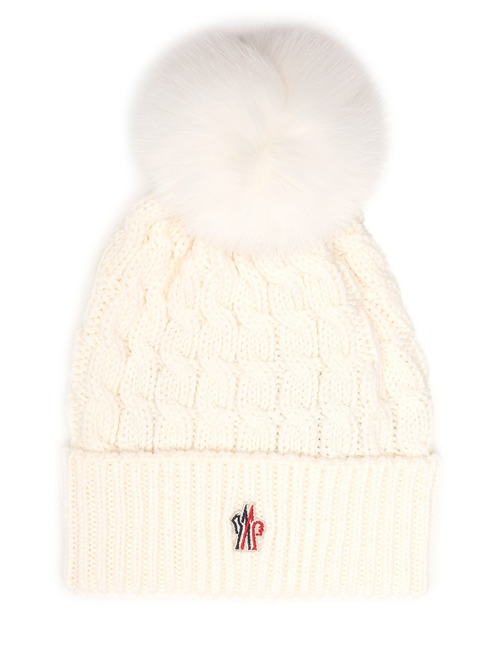 MONCLER GRENOBLE Cable Knit Beanie
