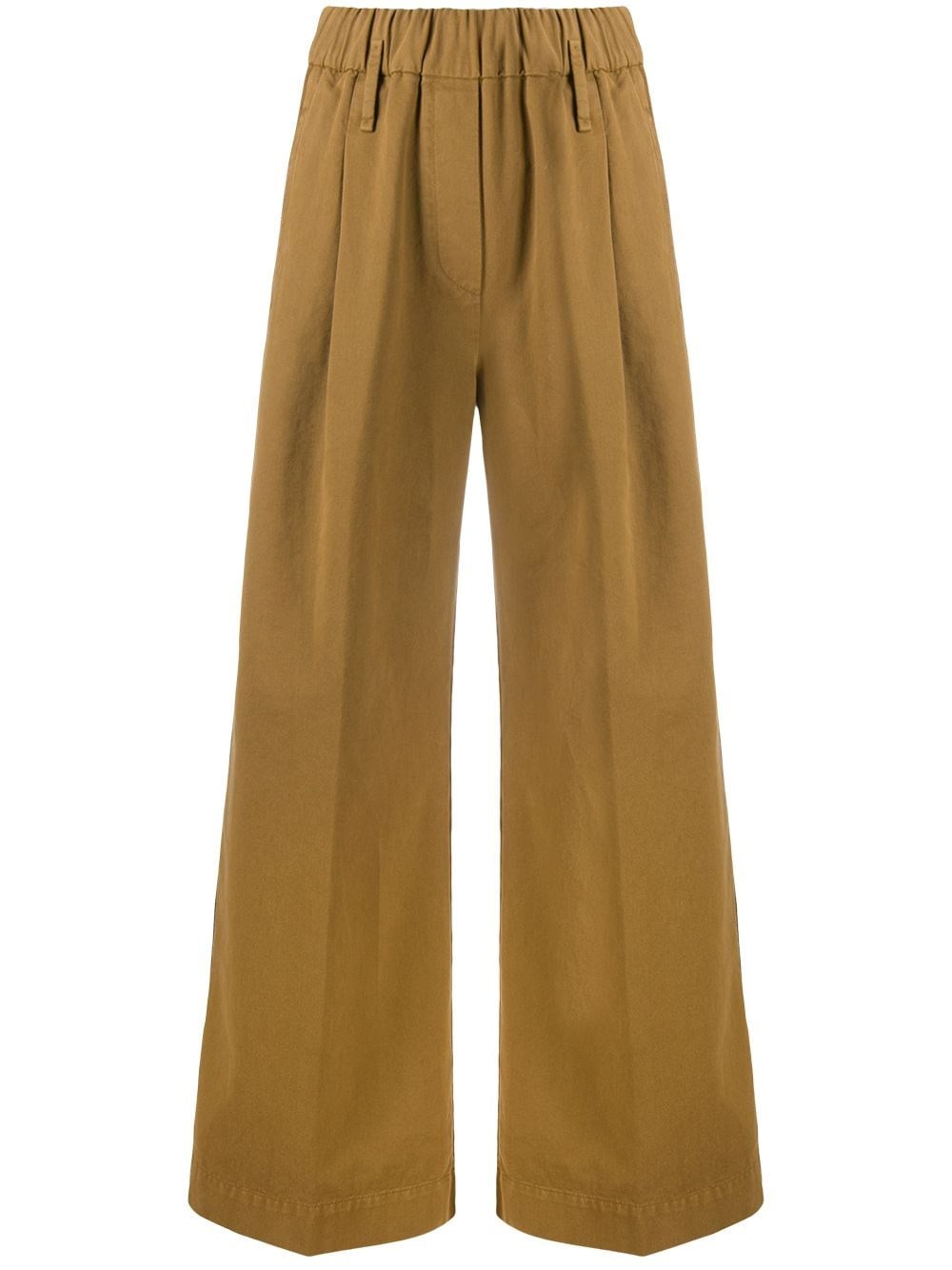 FORTE_FORTE High Waisted Flared Trousers
