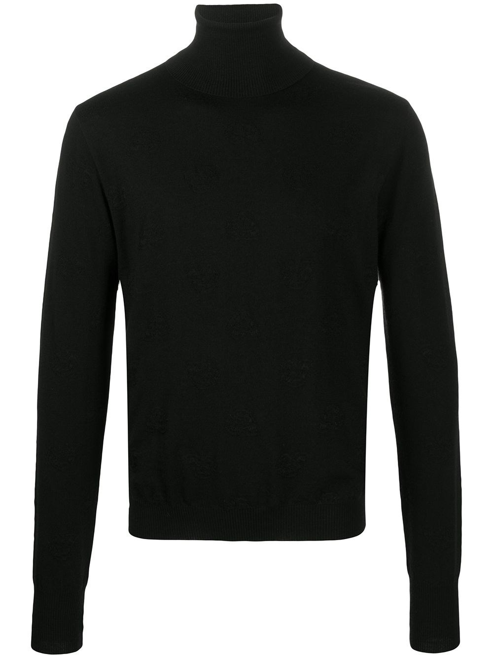 GABRIELE PASINI Black Turtle-Neck Sweater