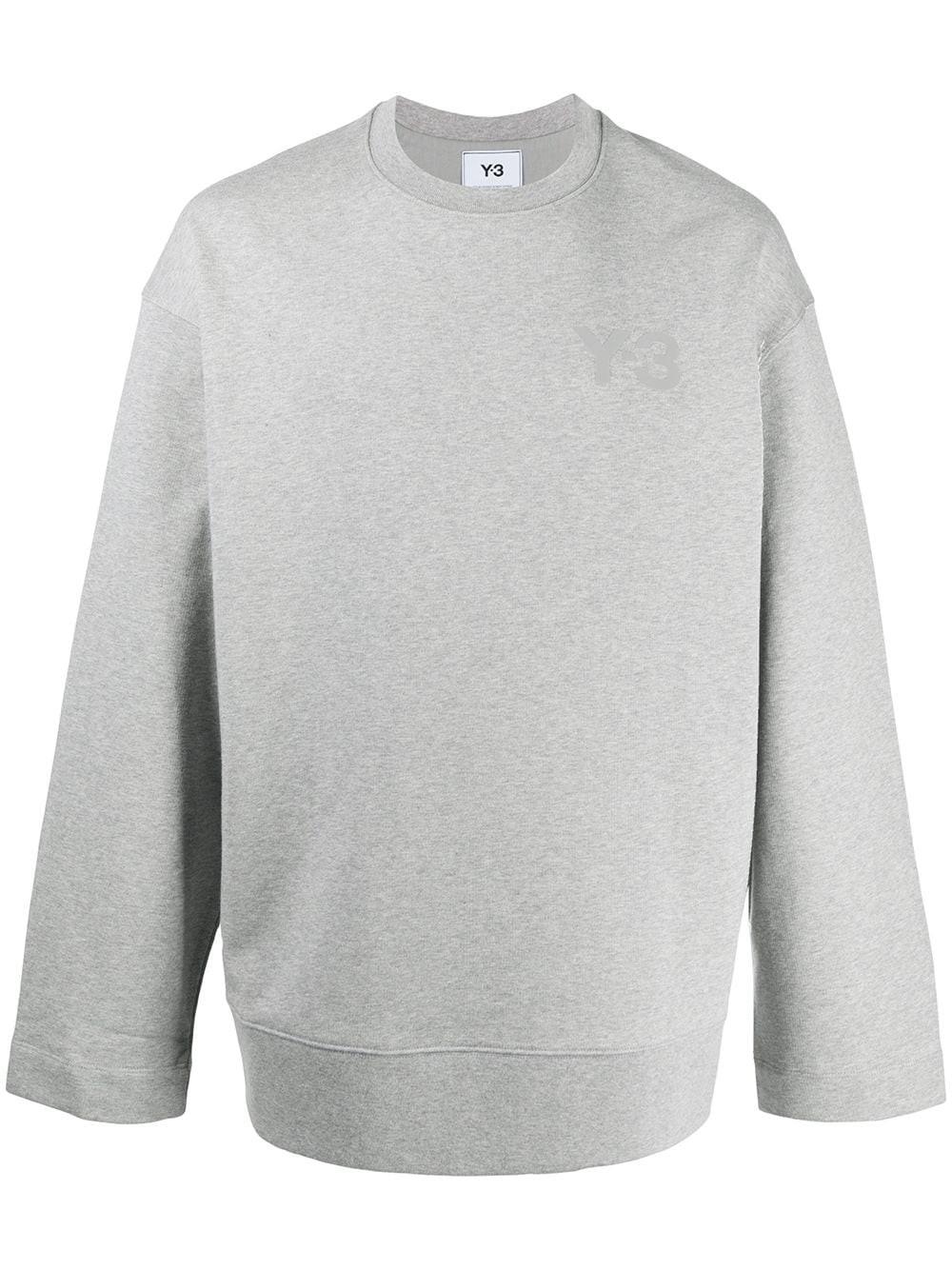 ADIDAS Y-3 Grey Melange Sweatshirt