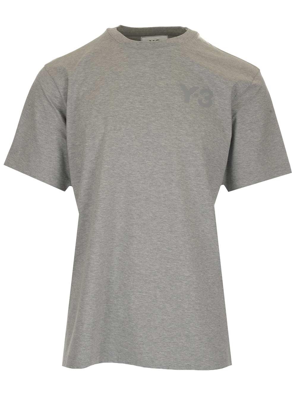 ADIDAS Y-3 Grey Oversize T-Shirt