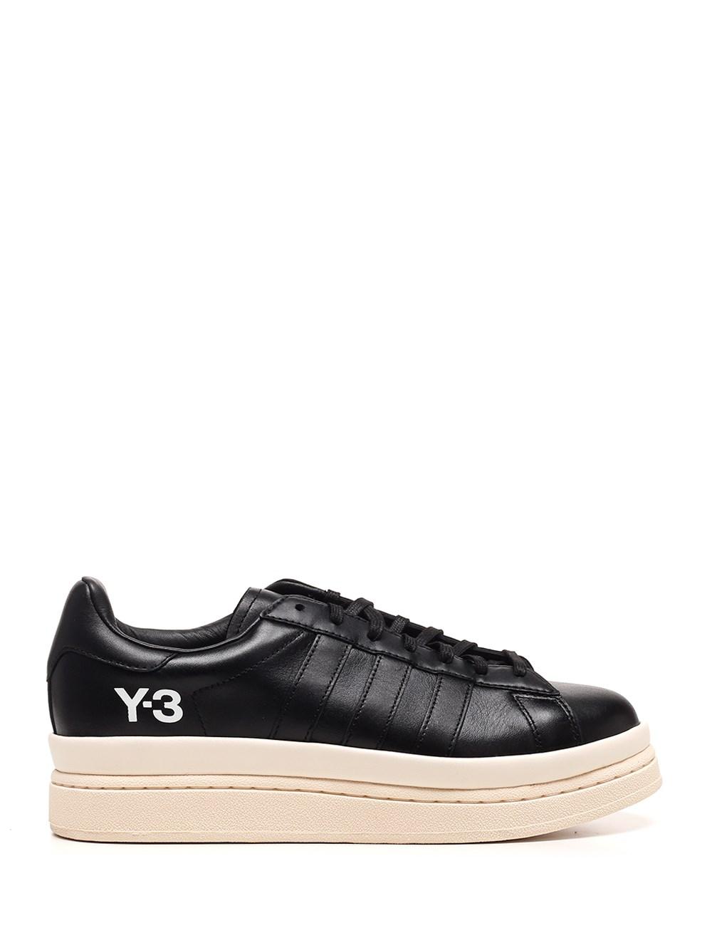 """ADIDAS Y-3 Black """"Hicho"""" Sneakers"""