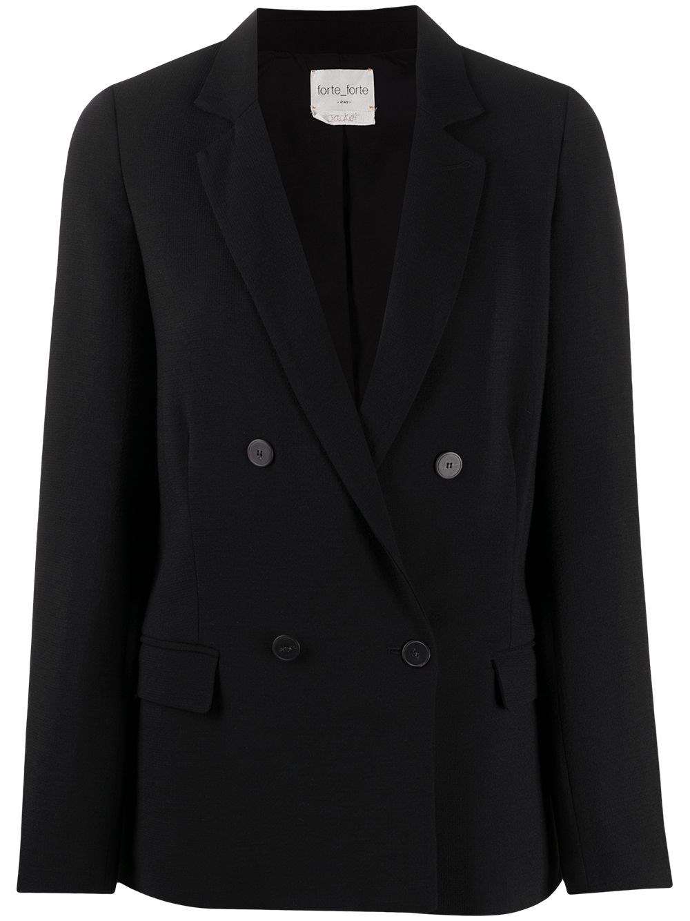 FORTE_FORTE Double Breasted Blazer