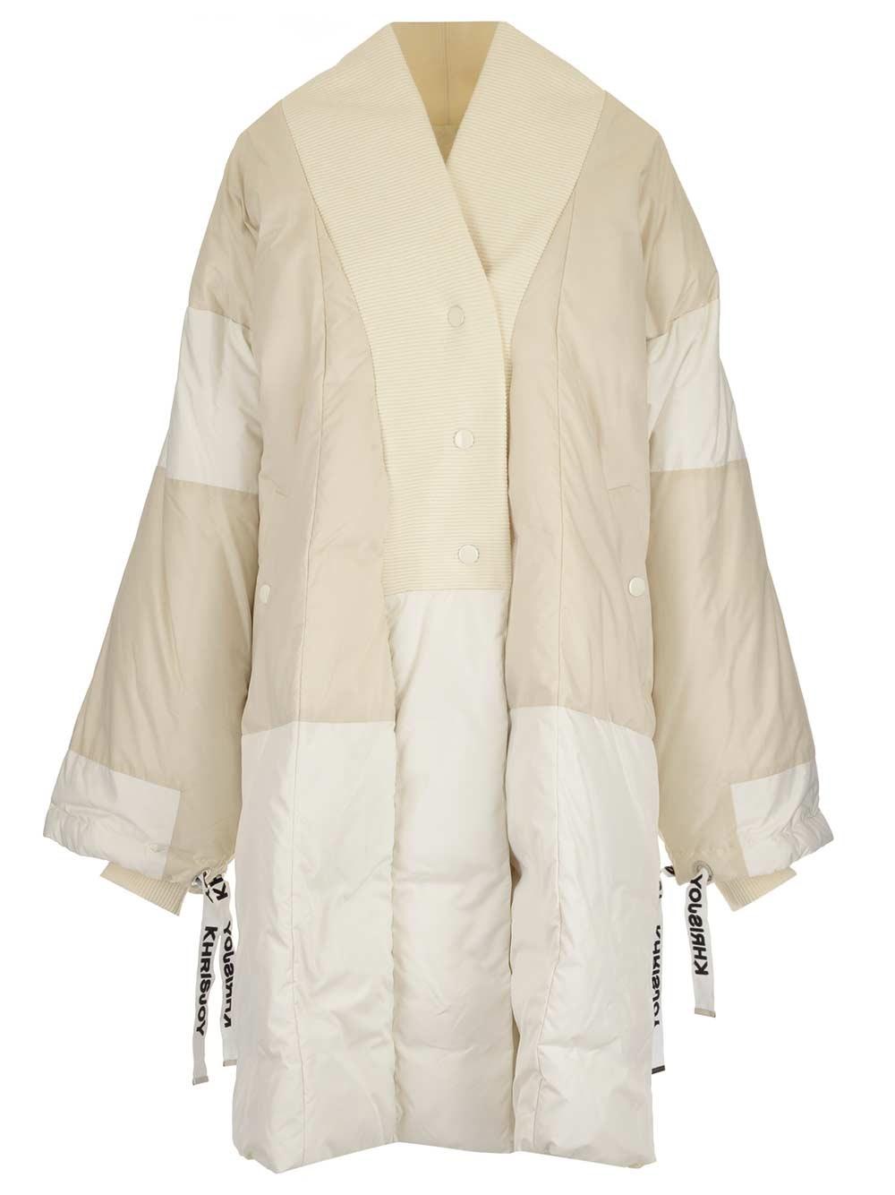 KHRISJOY Kimono Style Down Jacket