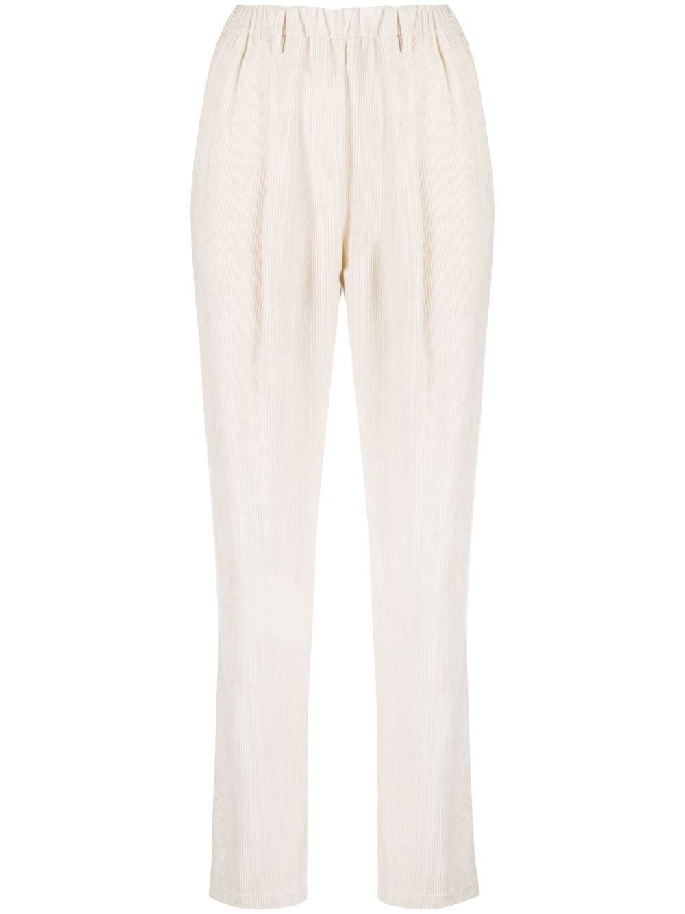 FORTE_FORTE Corduroy Finish Trousers