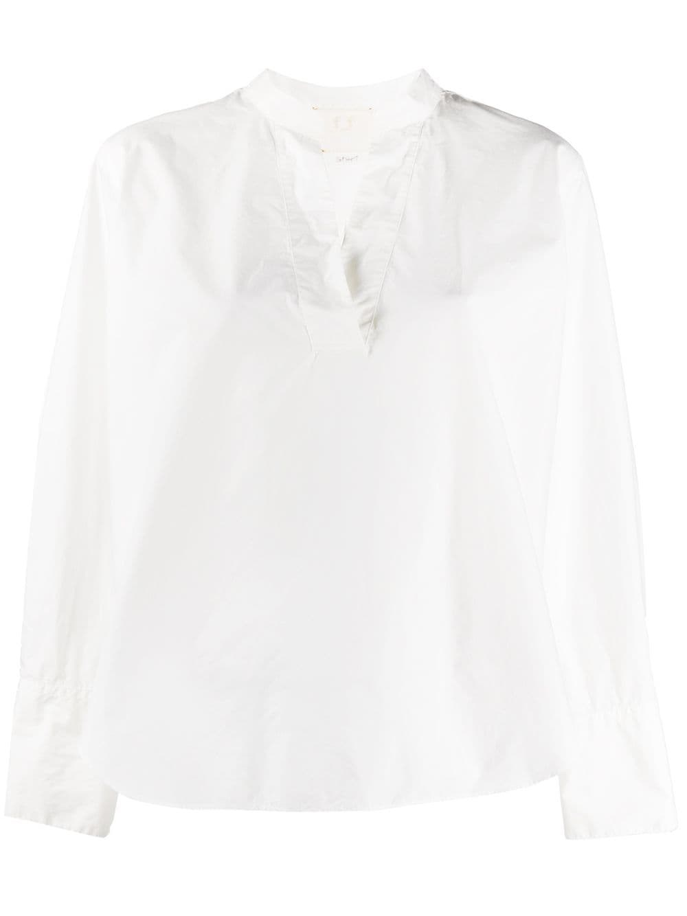 FORTE_FORTE Boxy-Fit Cotton Blouse