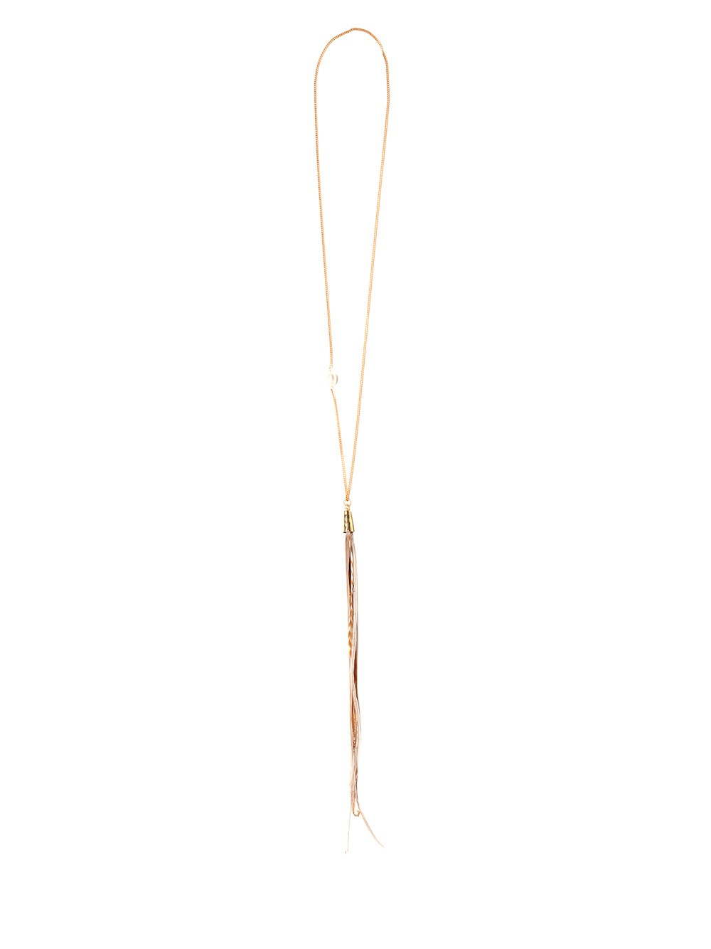 FORTE_FORTE Long Necklace
