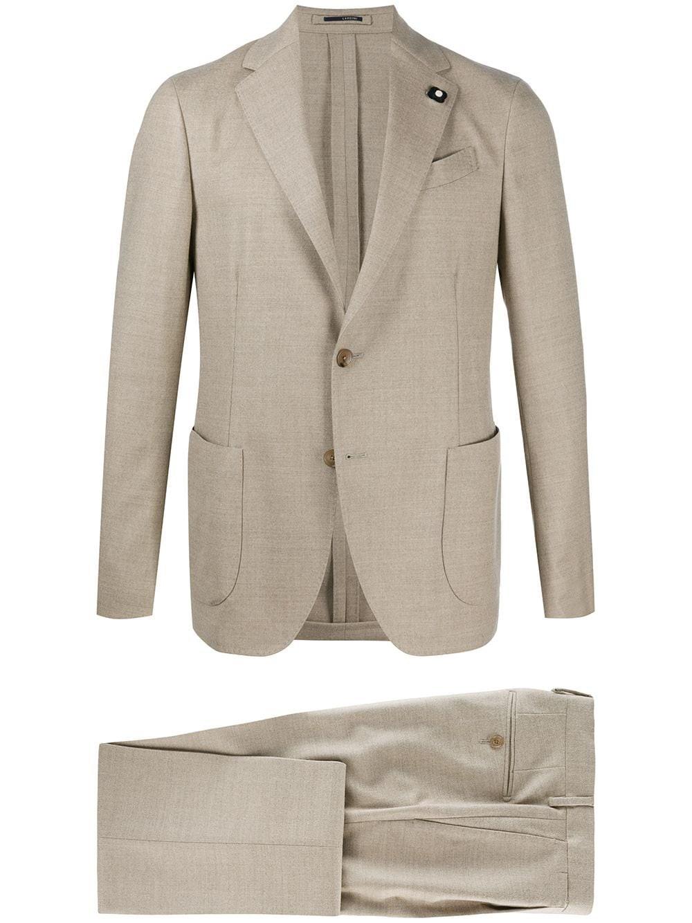 LARDINI Slim Fit Suit