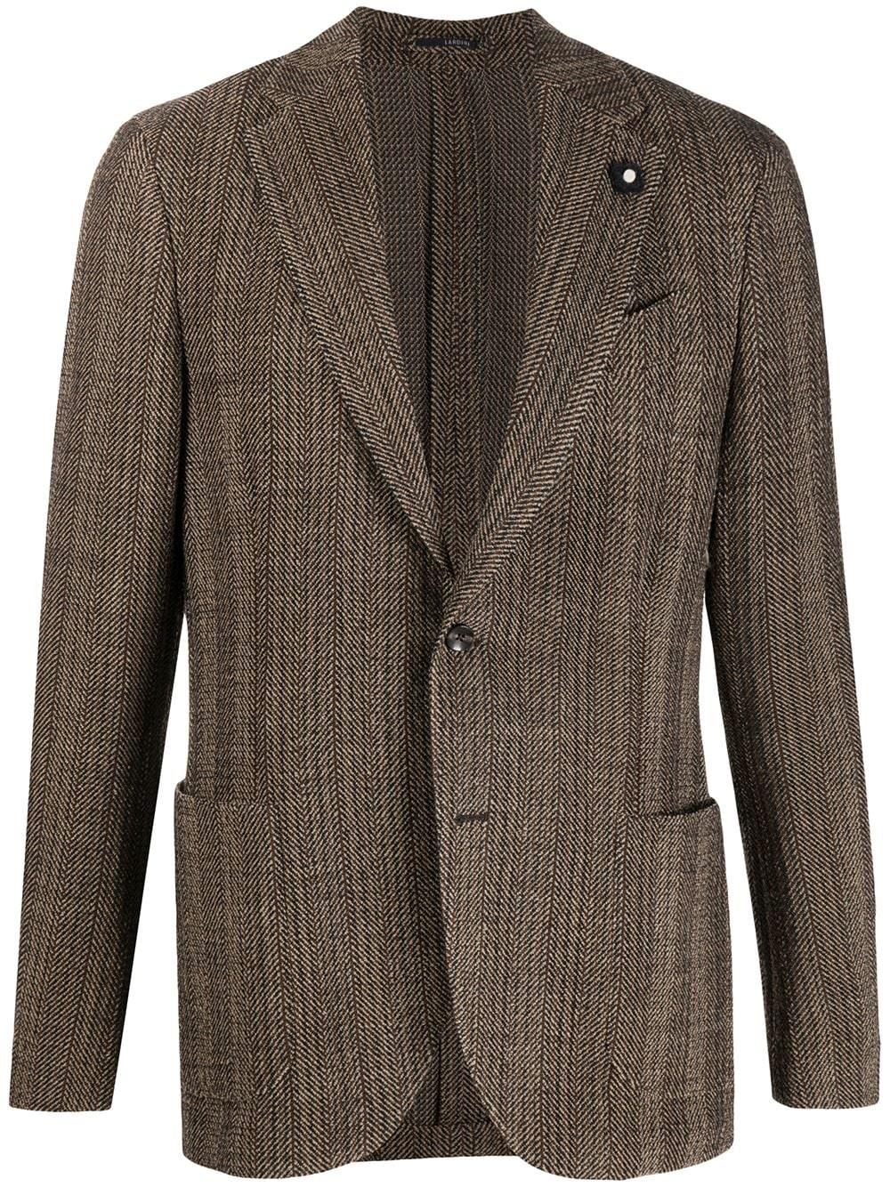 LARDINI Knitted Suit Jacket