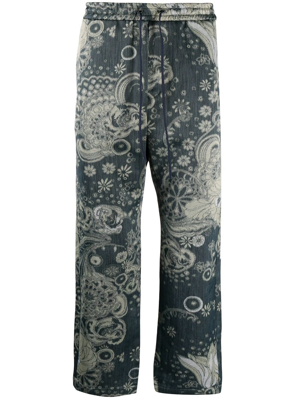 BARENA VENEZIA Paisley Print Trousers