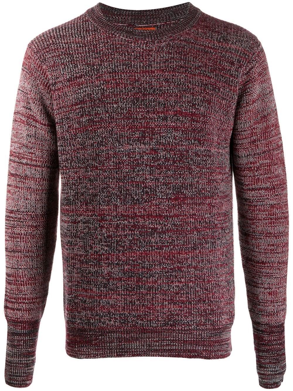 BARENA VENEZIA Wool Knit Crewneck Sweater