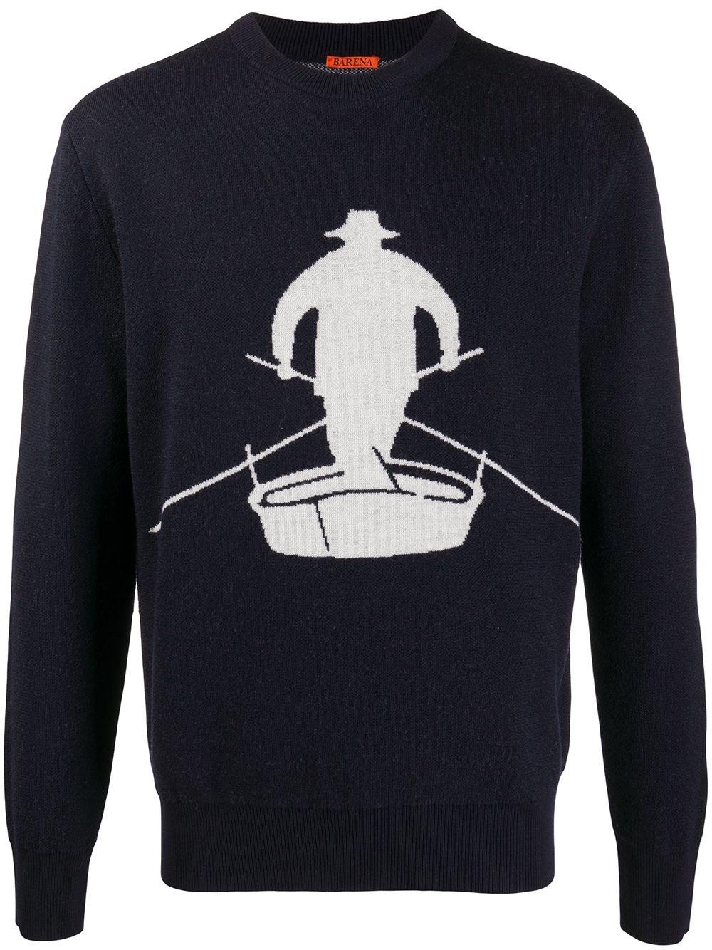 "BARENA VENEZIA ""Malmaro Pope"" Wool Sweater"