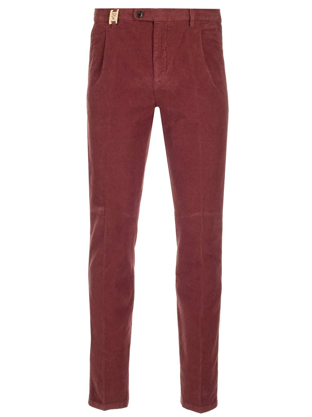 BARMAS Red Velvet Trousers