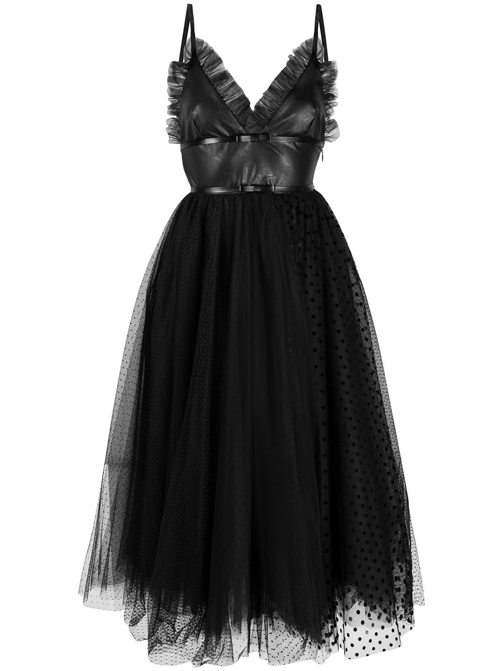 BROGNANO Ruffled Tulle Dress