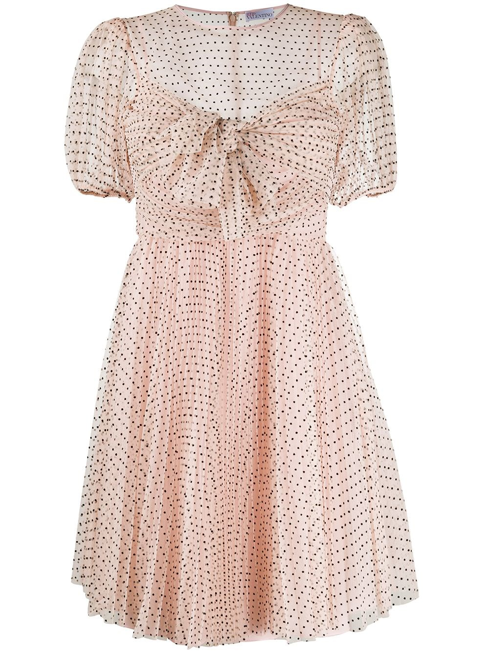 REDVALENTINO Tulle Mini Dress