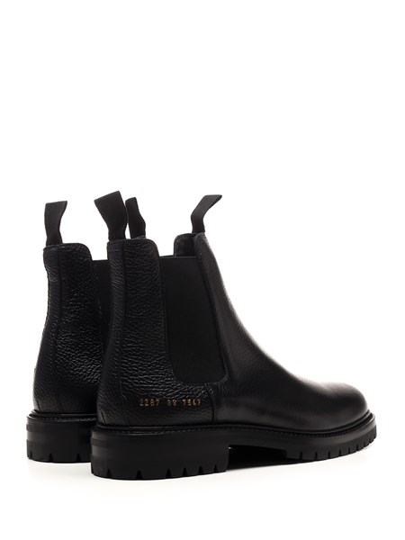 common projects chelsea boots black leather