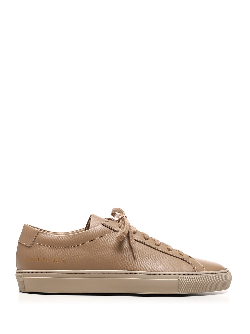 "COMMON PROJECTS Brown ""Achilles"" Sneakers"
