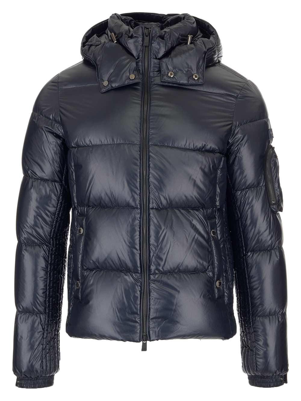 TATRAS Blue Zipped Padded Jacket