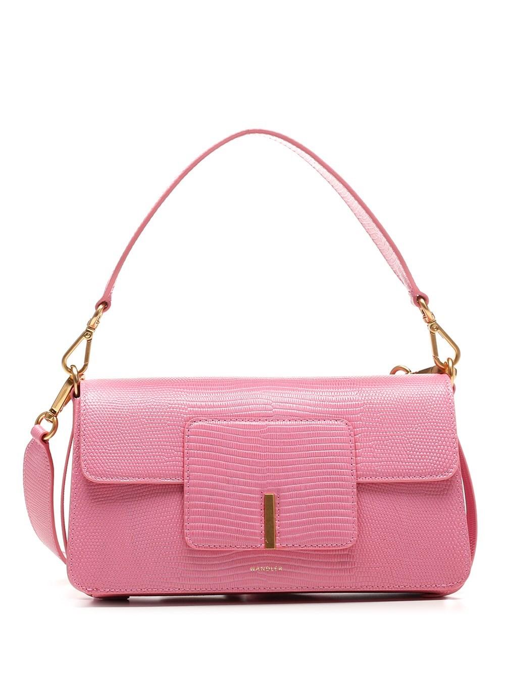 "WANDLER Pink Leather ""Georgia"" Bag"