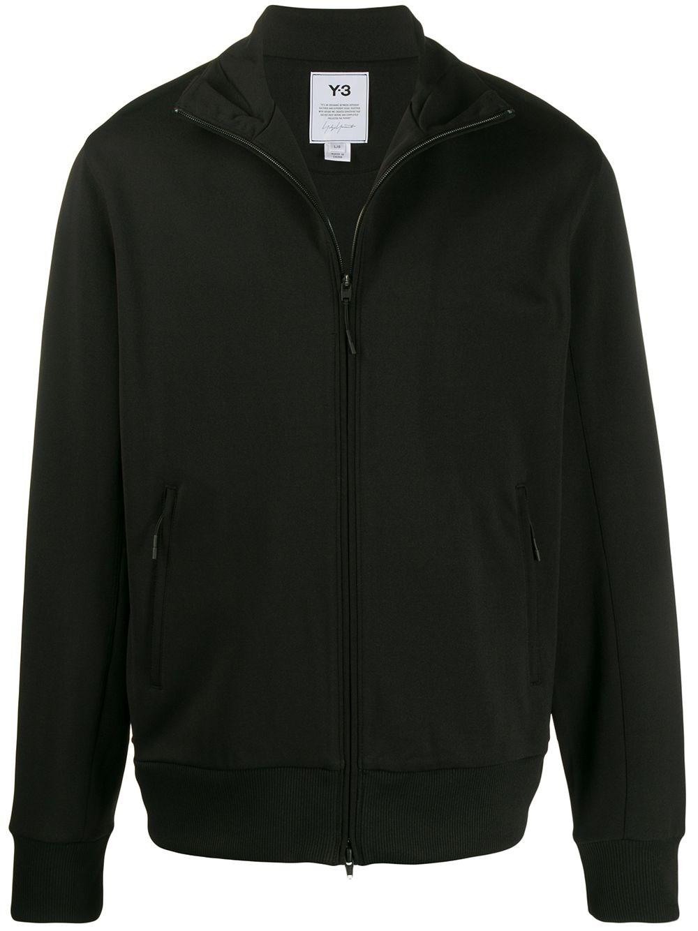 ADIDAS Y-3 Black Zipped Jacket