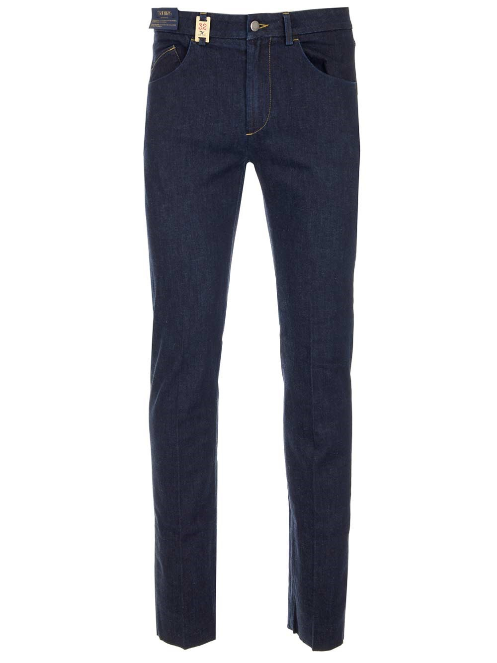 BARMAS Tailored Jeans In Cotton And Cashmere