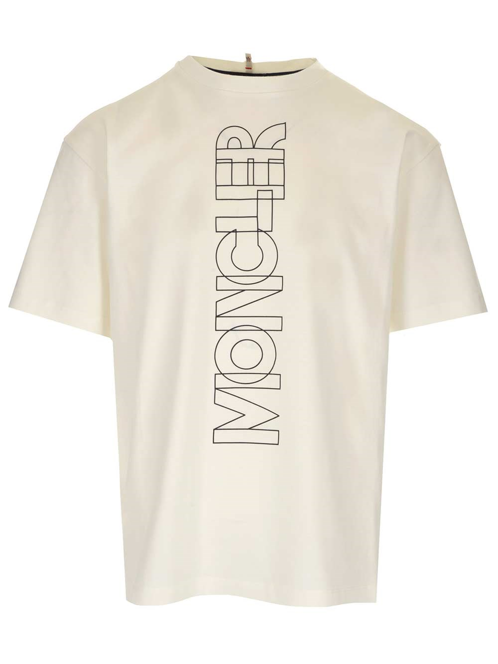 MONCLER GRENOBLE White Logo T-Shirt