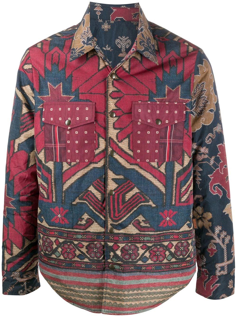 PIERRE LOUIS MASCIA Long Sleeve Shirt Jacket