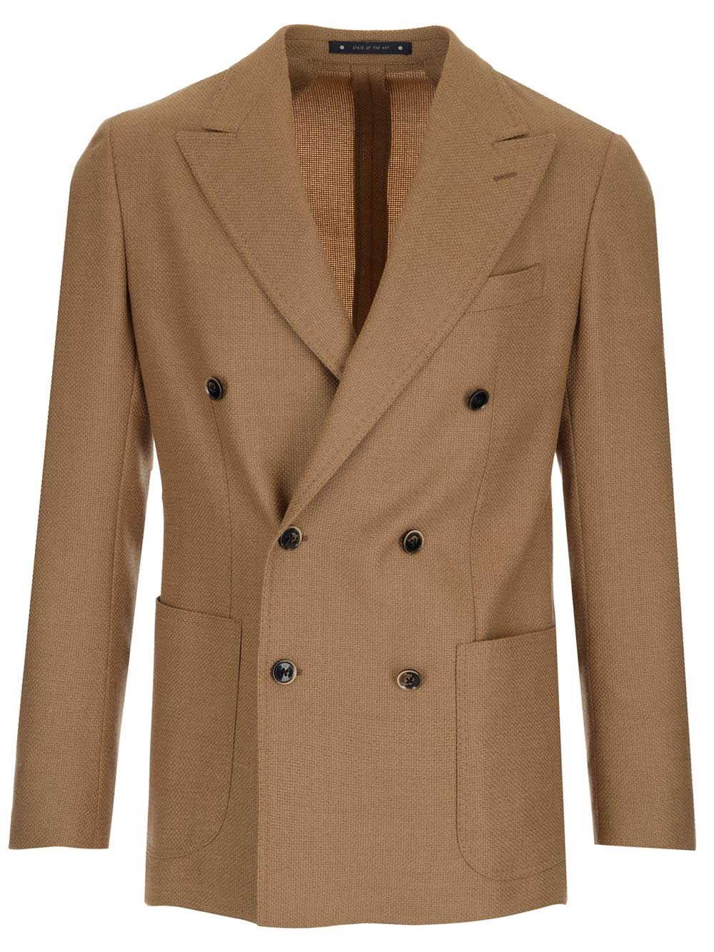 AL DUCA D'AOSTA 1902 Double-Breasted Tailored Jacket