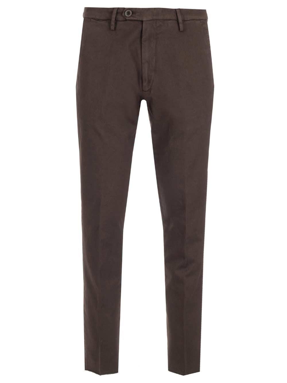AL DUCA D'AOSTA 1902 Cotton Drill Trousers
