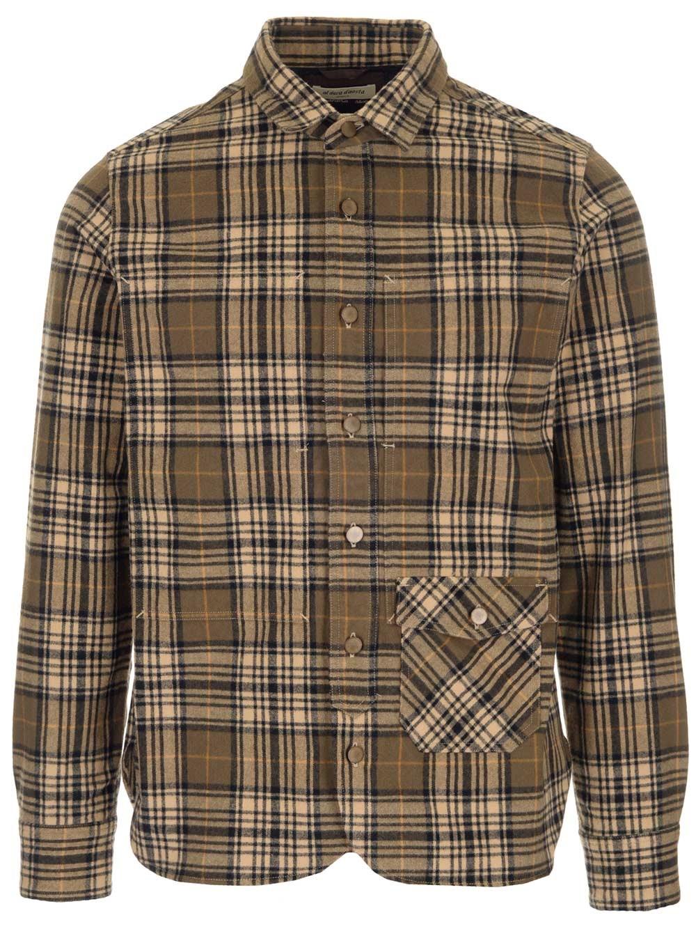 AL DUCA D'AOSTA 1902 Checked Cotton Shirt