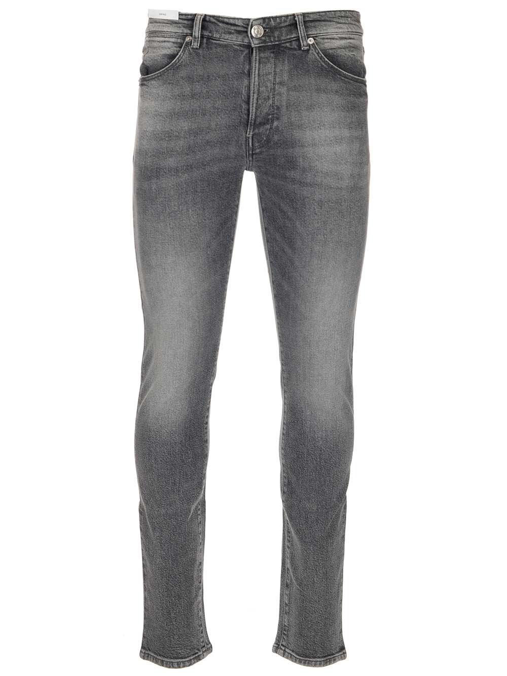 PT TORINO Stone Washed Gray Jeans