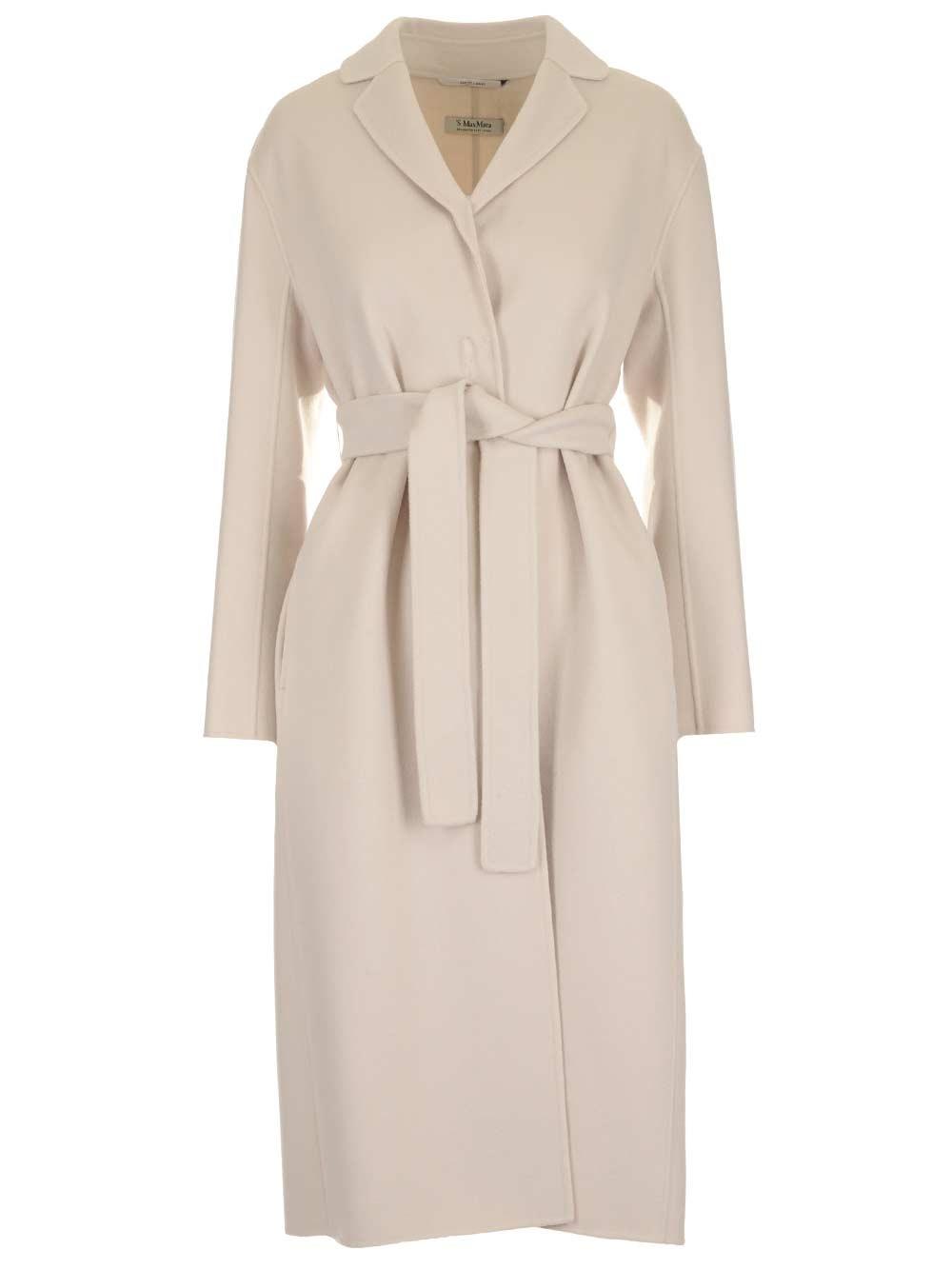 """'S MAX MARA """"Nemo"""" Robe-Style Wool Coat"""