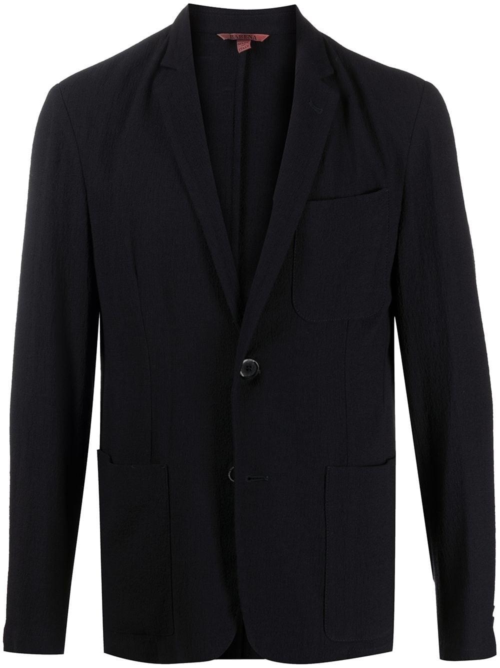 BARENA VENEZIA Blue Crepe Jacket