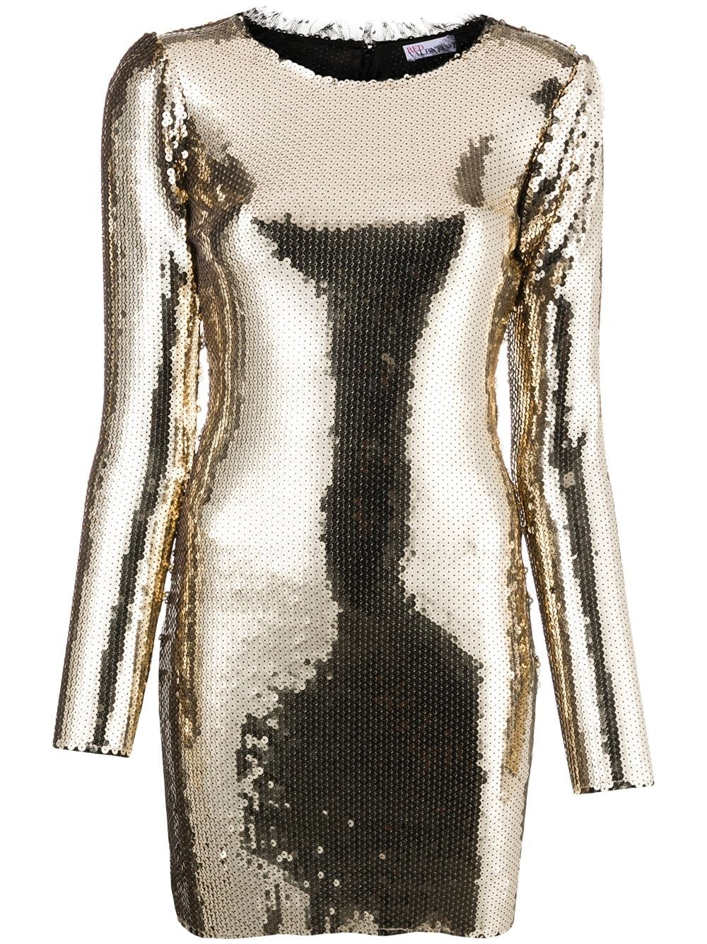 REDVALENTINO Sequins Mini Dress