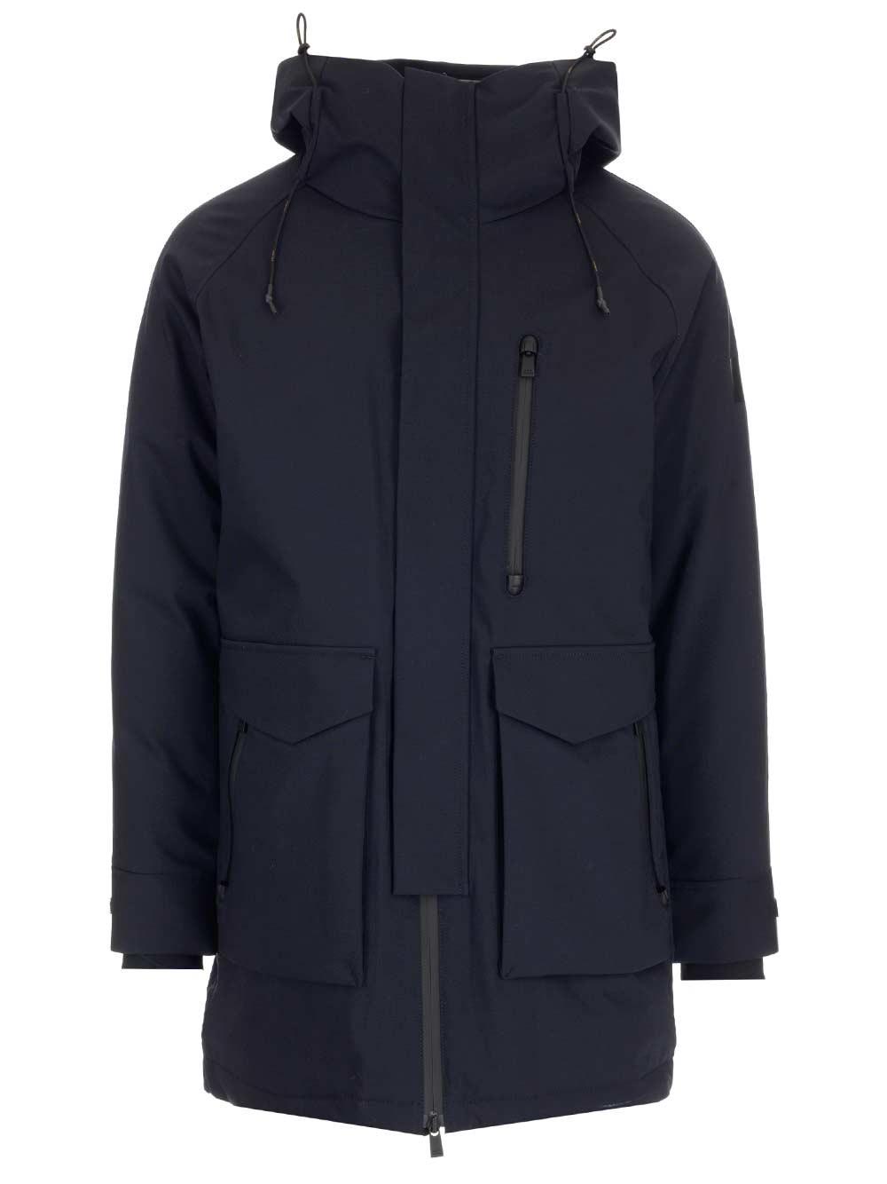 TATRAS Blue Parka Coat