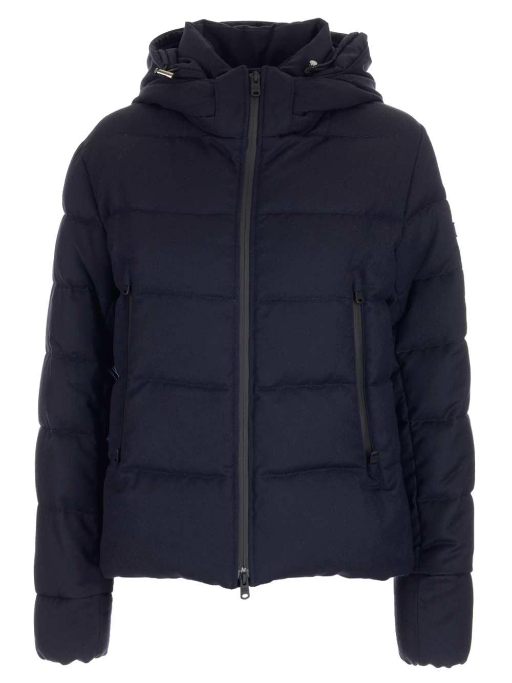 TATRAS Blue Wool Down Jacket
