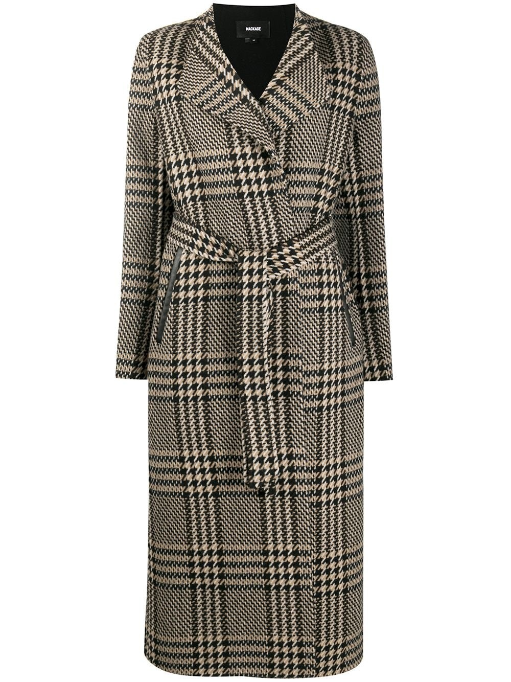 "MACKAGE ""Rosa"" Plaid-Check Coat"