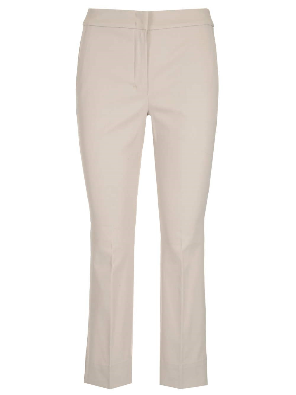 'S MAX MARA Stretch Cotton Trousers