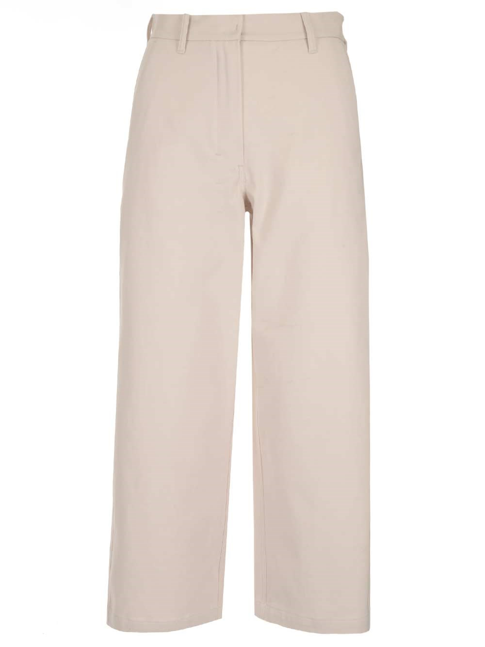 'S MAX MARA Cotton Cropped Trousers