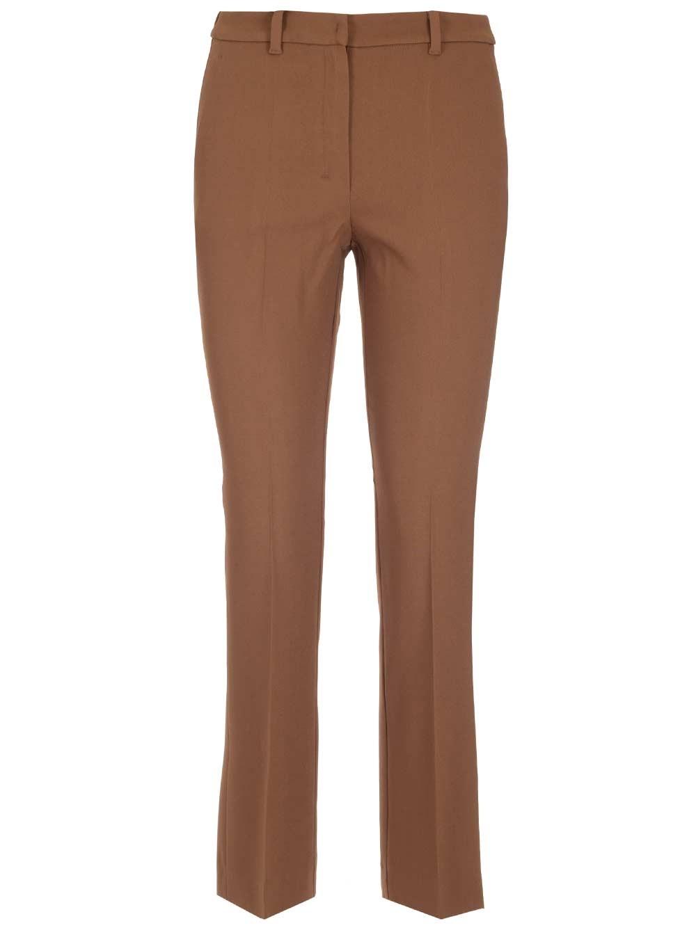 'S MAX MARA Stretch Viscose Sartorial Trousers