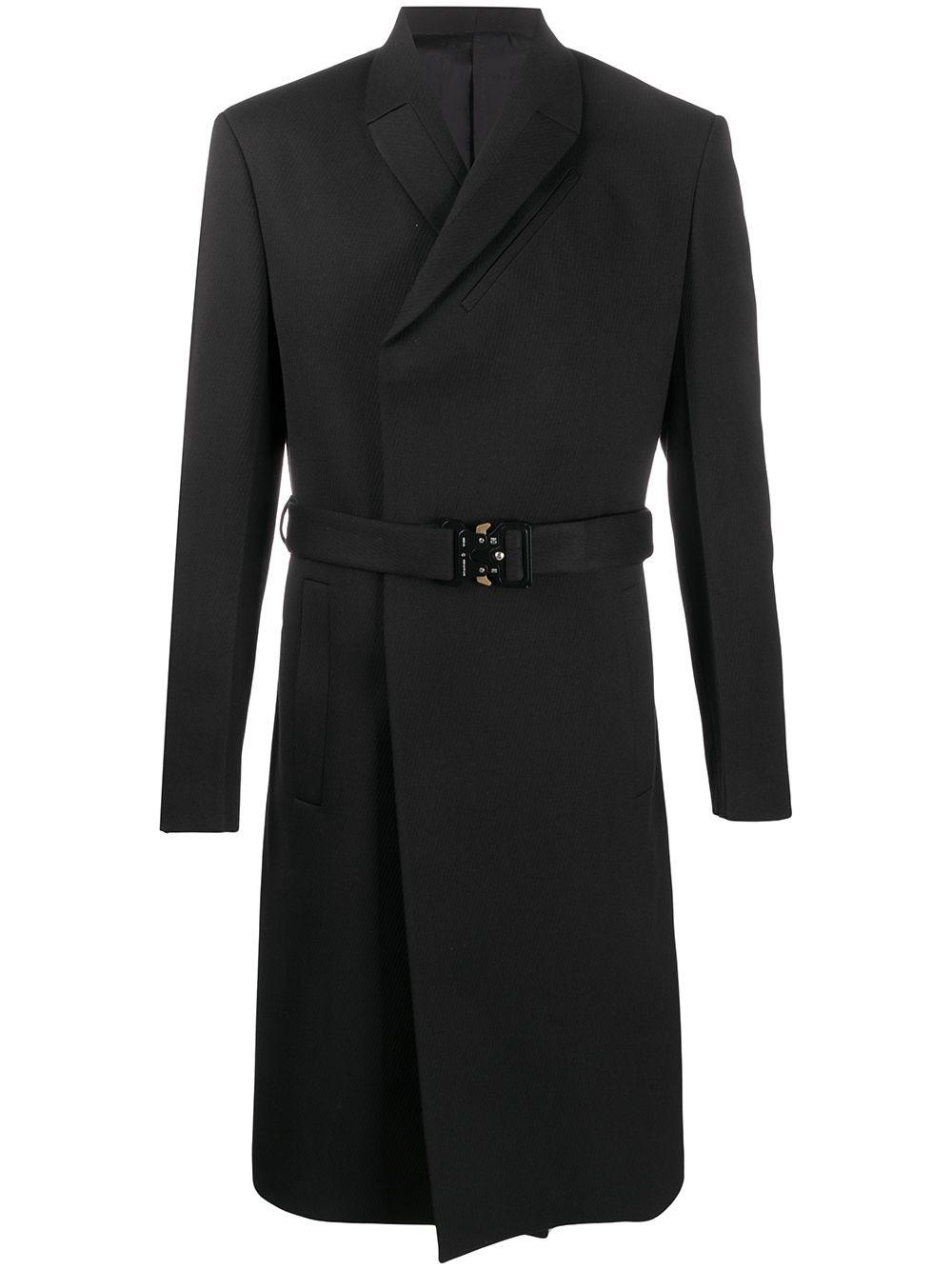 ALYX STUDIO Black Double-Breasted Coat
