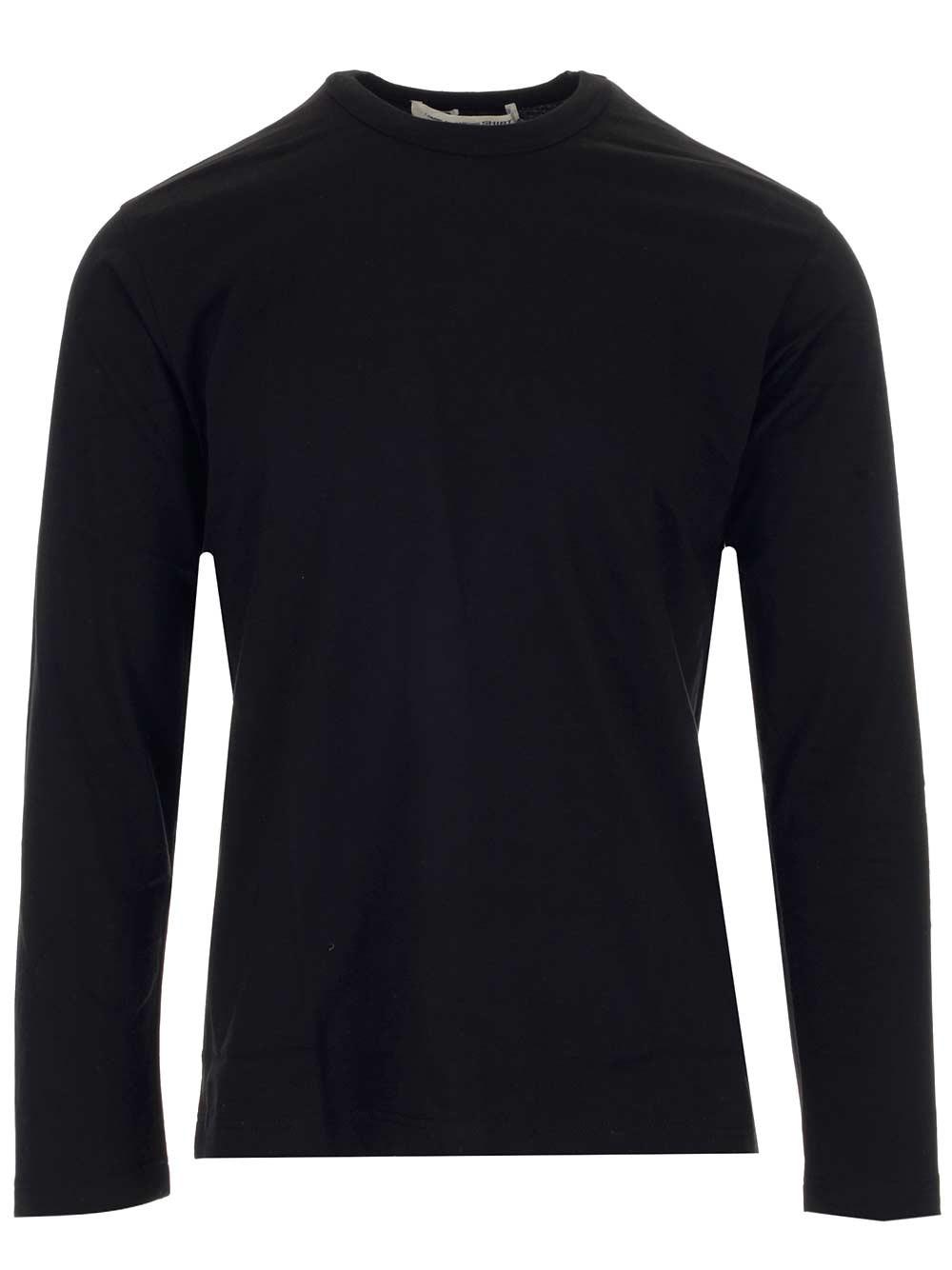 COMME DES GARCONS SHIRT Black Long-Sleeved T-Shirt