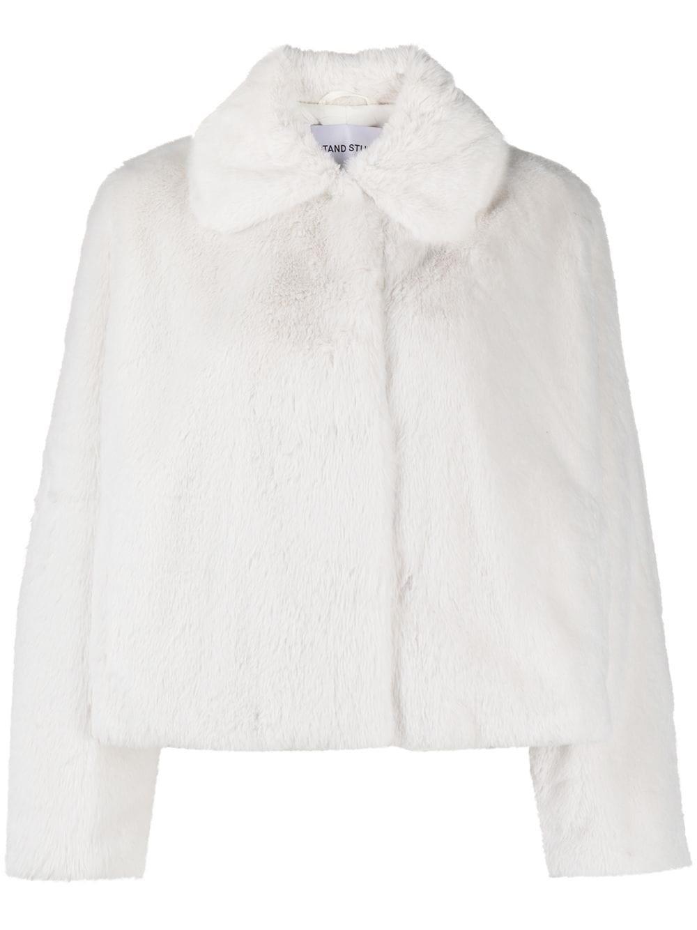 "STAND STUDIO ""Marcela"" Fur Effect Coat"