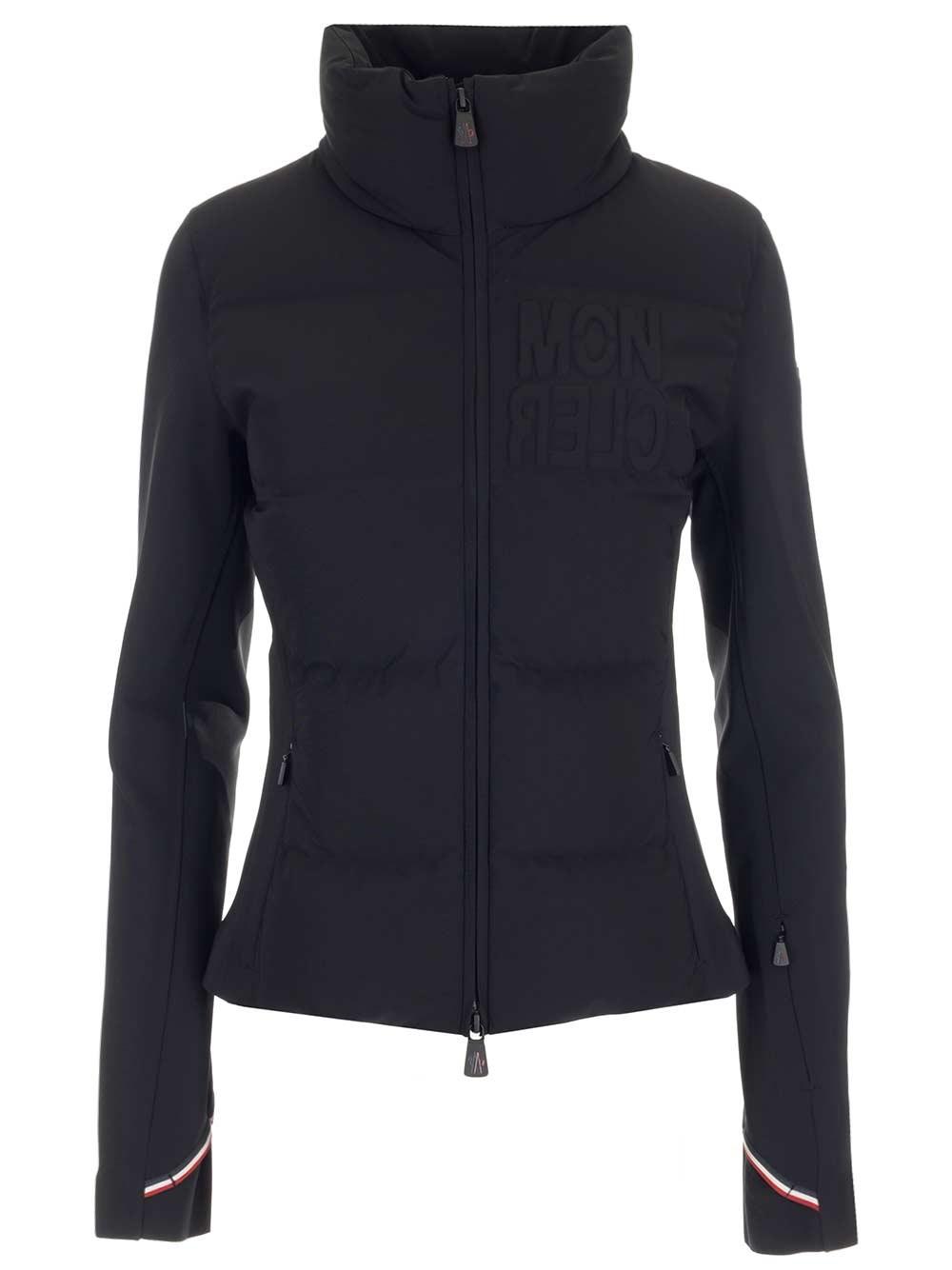MONCLER GRENOBLE Stretch Jersey Zipper Jacket